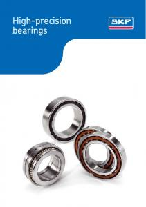 High-precision bearings