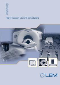 High Precision Current Transducers