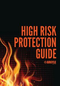 HIGH RISK PROTECTION GUIDE