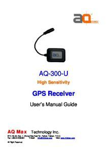 High Sensitivity GPS Receiver
