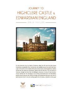 Highclere Castle & Edwardian England