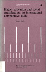 Higher education and social stratification: an international comparative study