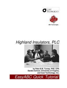 Highland Insulators, PLC