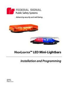 HighLighter LED Mini-Lightbars