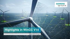 Highlights in WinCC V14. SIMATIC WinCC im TIA Portal