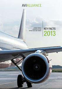 Highlights of 2013 Airport Facts and Figures. KEY Facts