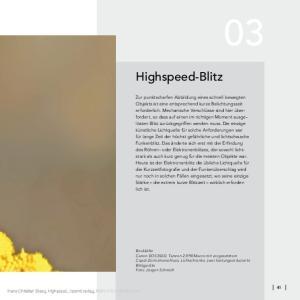 Highspeed-Blitz. Hans-Christian Steeg, Highspeed, dpunkt.verlag, ISBN