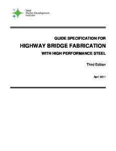 HIGHWAY BRIDGE FABRICATION
