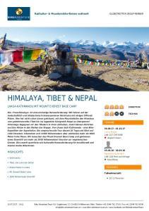 HIMALAYA, TIBET & NEPAL