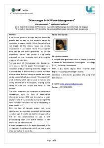 Himatnagar Solid Waste Management