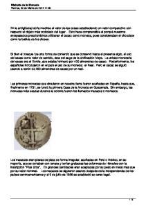Historia de la Moneda Viernes, 30 de Marzo de :49