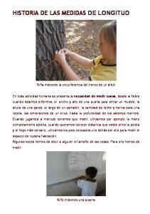 HISTORIA DE LAS MEDIDAS DE LONGITUD