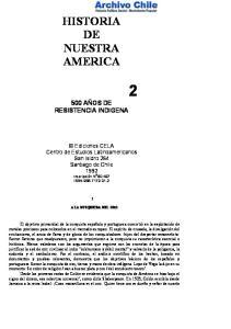 HISTORIA DE NUESTRA AMERICA