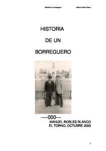 HISTORIA DE UN BORREGUERO