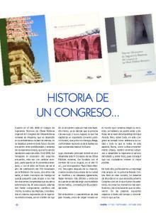 HISTORIA DE UN CONGRESO
