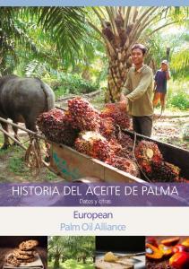 HISTORIA DEL ACEITE DE PALMA Datos y cifras