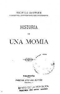 HISTORIA. UNi\. MOMIA. ,