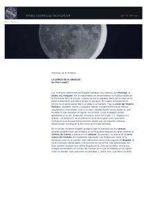 Historias de Al Andalus. LA CIENCIA EN AL-ANDALUS por Paul Lunde[*]