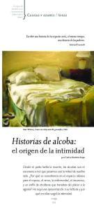 Historias de alcoba: el origen de la intimidad