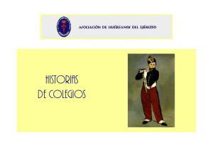 HISTORIAS DE COLEGIOS