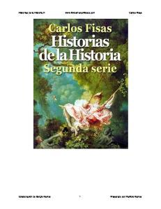 Historias de la Historia II  Carlos Fisas