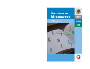Historias de. Migrantes. IV Concurso