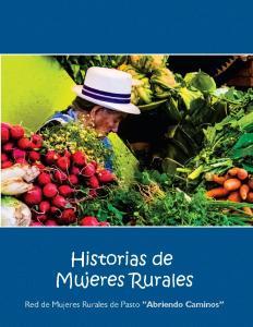Historias de Mujeres Rurales