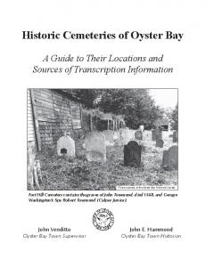 Historic Cemeteries of Oyster Bay