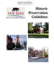Historic Preservation Guidelines