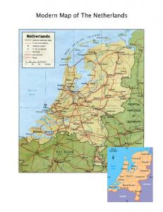 HISTORICAL BACKGROUND OF THE NETHERLANDS