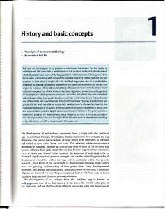History and basic concepts