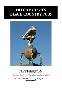 HITCHMOUGH S BLACK COUNTRY PUBS