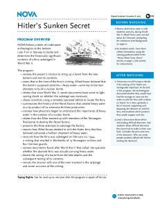 Hitler s Sunken Secret