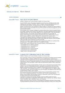 HIV activities