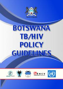 HIV POLICY GUIDELINES