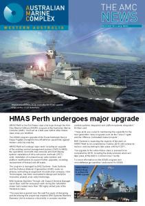 HMAS Perth undergoes major upgrade
