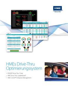 HMEs Drive-Thru Optimierungssystem