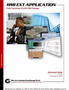 HMI EXT Quickstart Guide