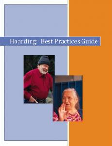 Hoarding: Best Practices Guide