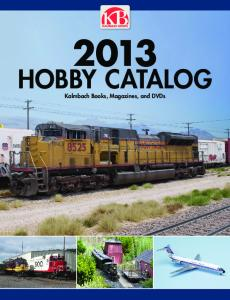 HOBBY CATALOG Kalmbach Books, Magazines, and DVDs