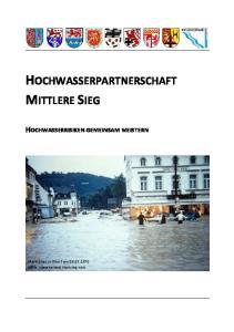HOCHWASSERPARTNERSCHAFT MITTLERE SIEG