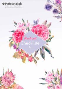 Hochzeit. Checkliste