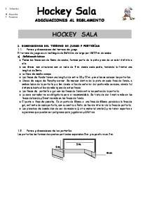 Hockey Sala HOCKEY SALA