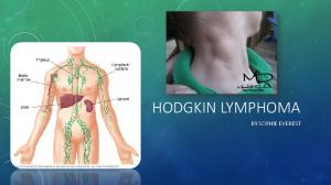 HODGKIN LYMPHOMA BY SOPHIE EVEREST