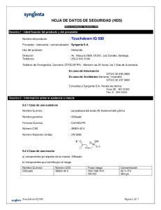 HOJA DE DATOS DE SEGURIDAD (HDS)