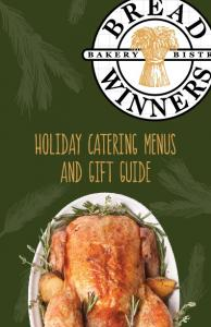Holiday Catering Menus and Gift Guide