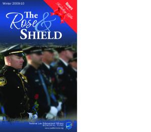 Holiday Gifts. News. Winter and. Rose. Shield. National Law Enforcement Officers. M E M O R I A L F U N D