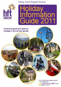 Holiday Information Guide 2011