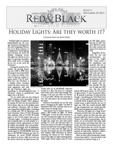 Holiday Lights: Are they worth it?