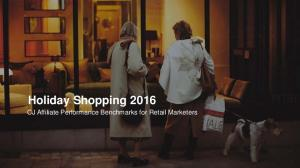 Holiday Shopping 2016